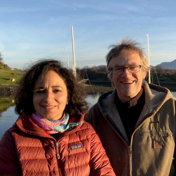 Jeannete Talavera y Wolf Kloss